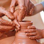 Ceramika - dzieci - obraz