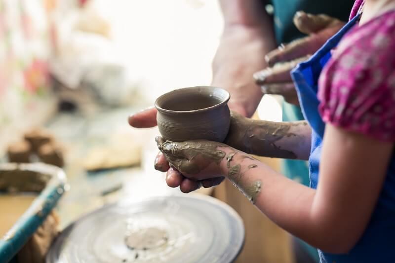 Zajęcia ceramiczne jako propozycja dla dzieci